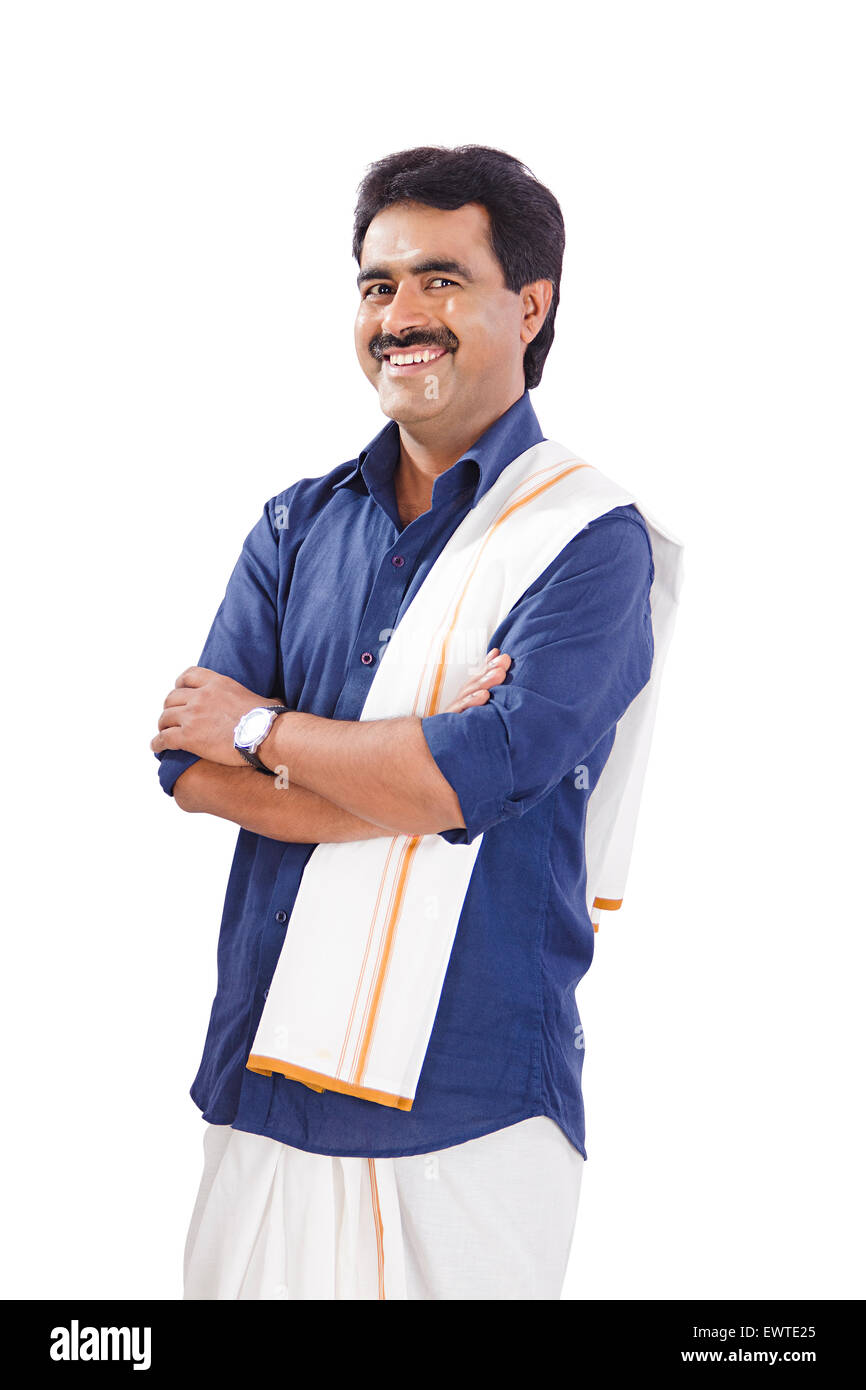 1 South Indian man standing pose Stock Photo, Royalty Free ...