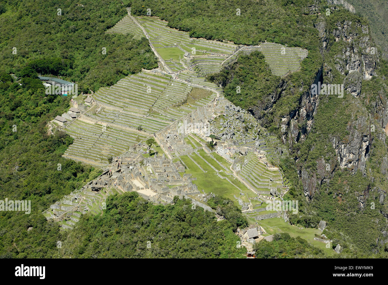 Mountain living near cusco peru royalty free stock photo - Machu Picchu Inca Ruins From Huayna Picchu Mountain Near Machu Picchu Pueblo Aka Aguas Calientes Cusco Peru