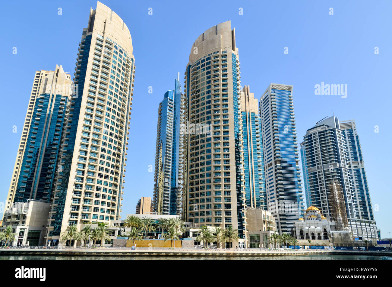 Futuristic and modern high rise buildings towers and for Modern high rise building design