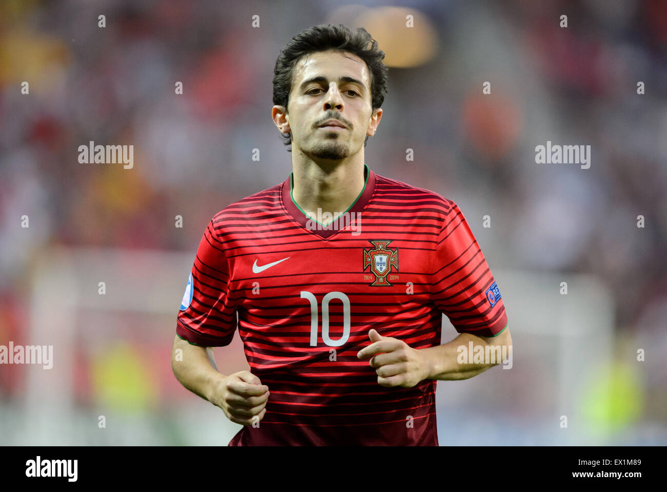 Portugal s Bernardo Silva during the UEFA Under 21 European Stock