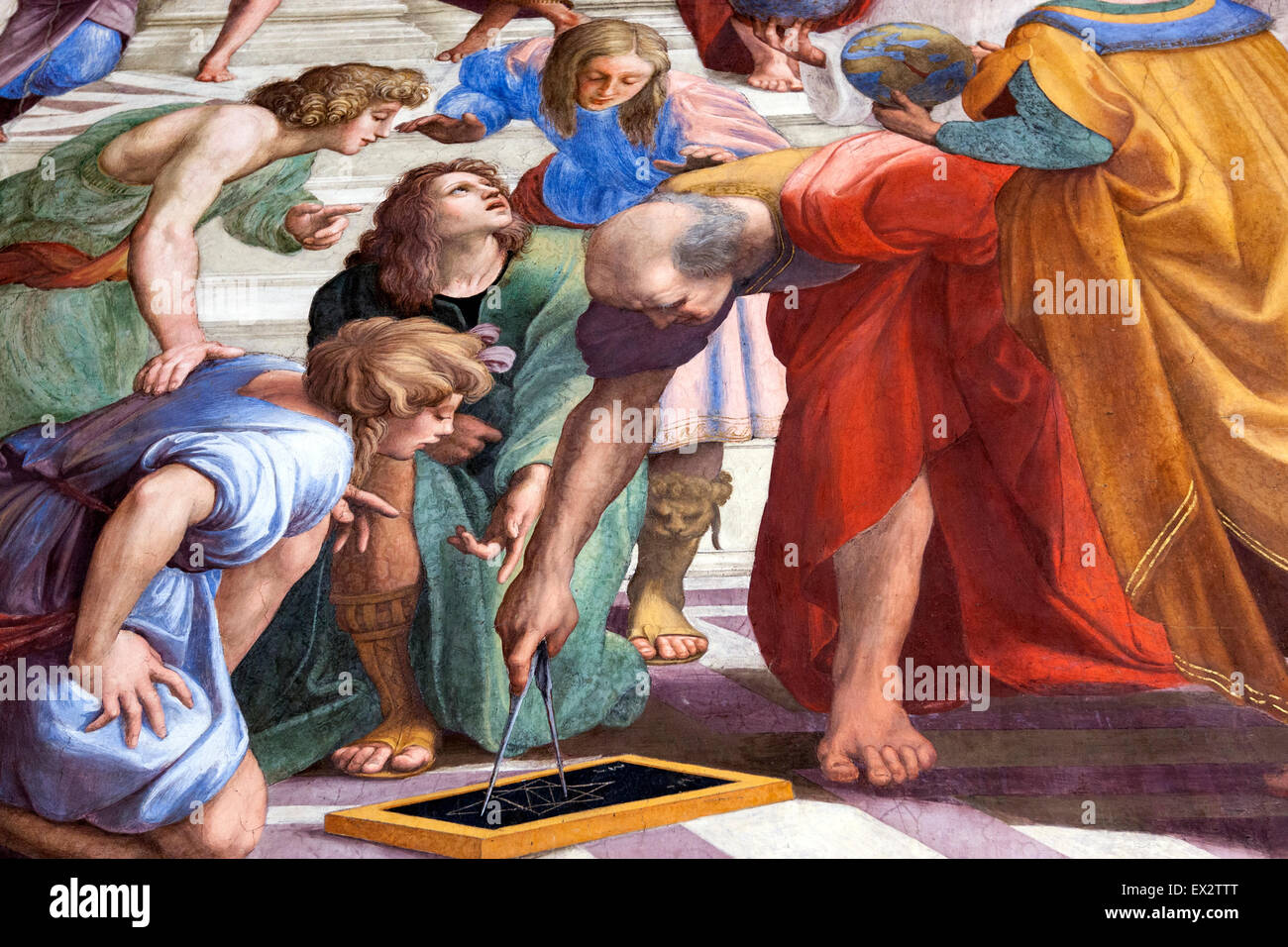 the school of athens by raphael essay Over a year had passed since raphael completed the school of athens, and yet  after viewing the chapel ceiling, raphael went back to the.