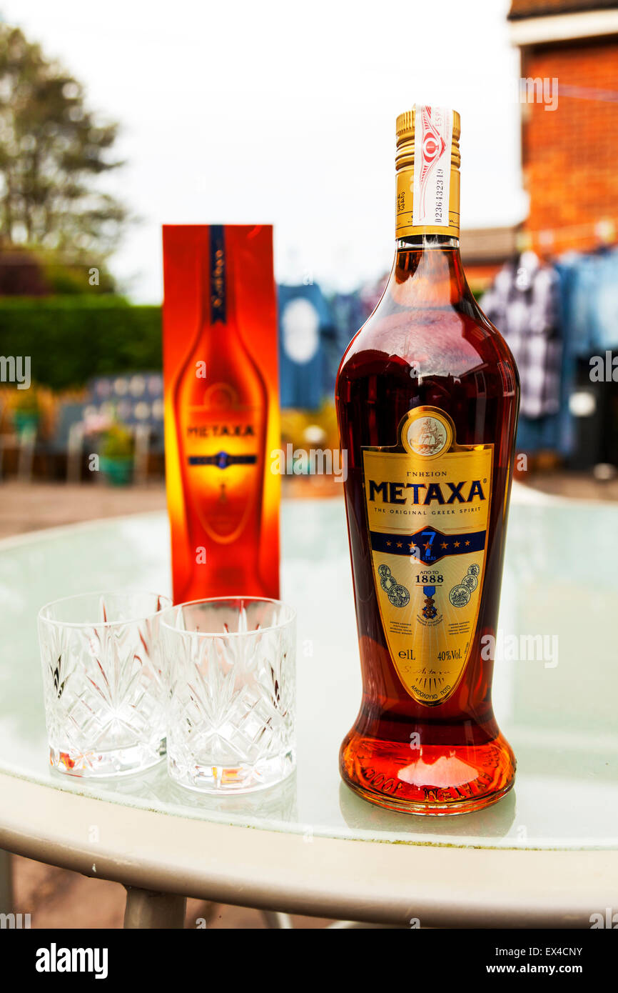 Metaxa greek brandy 7 star seven stars alcohol spirit for Cocktail etymology