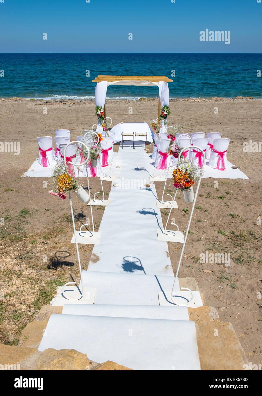 Beach Wedding Venue In Mojacar Almeria Province Andalusia Spain