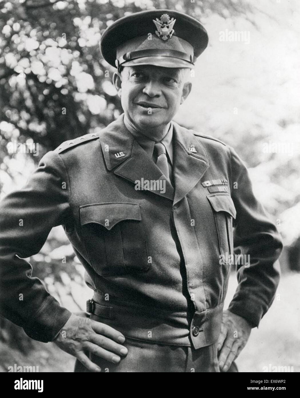 a biography of dwight david eisenhower David dwight eisenhower biography: dwight d eisenhower – in 1945 he was made us army chief of staff he became the very first supreme allied commander of the north atlantic treaty organization (nato) in 1951.