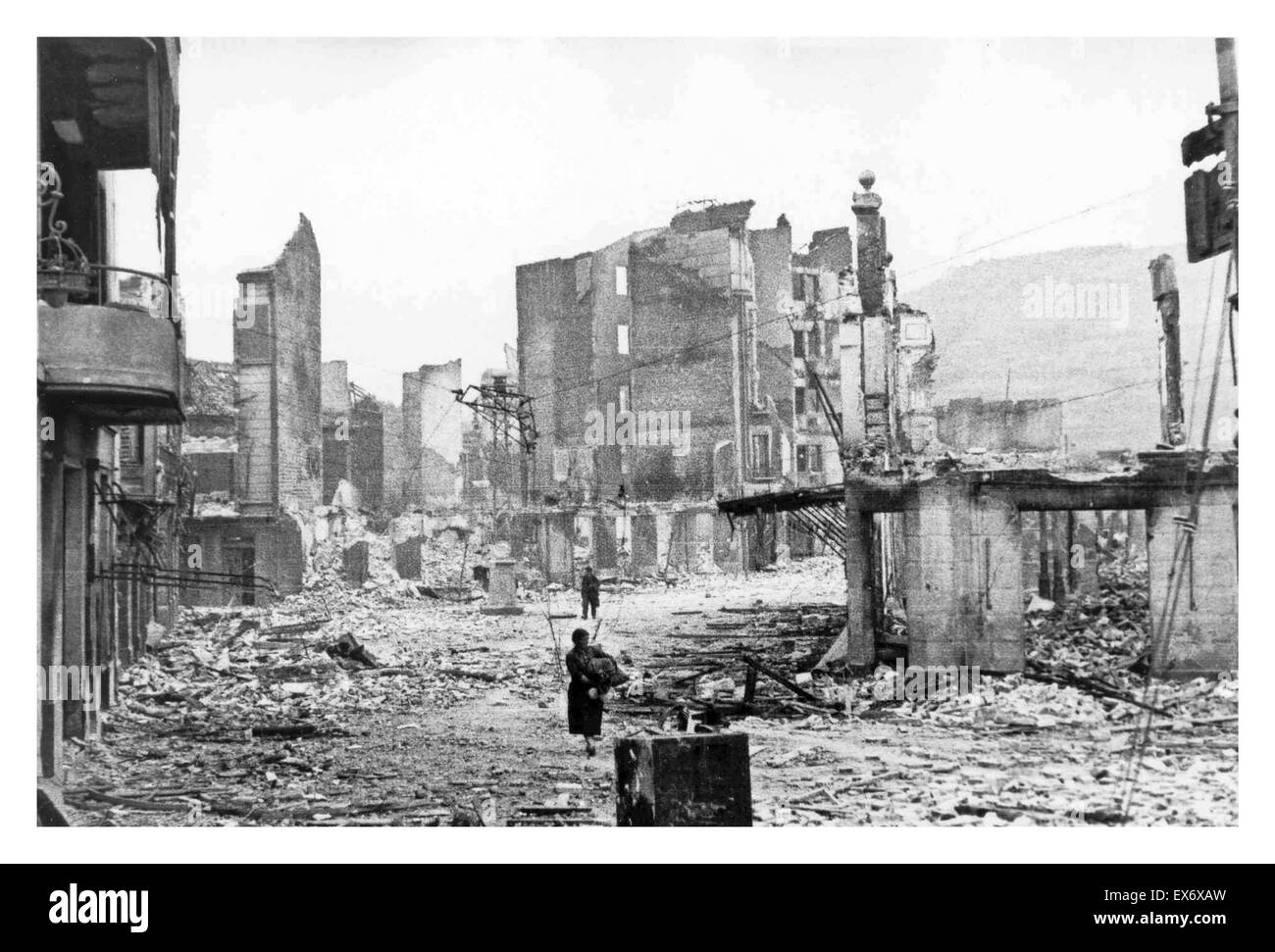 bombing of guernica It was one of the worst atrocities of the spanish civil war german bombers, backing franco's fascist forces, virtually destroyed the basque town hear first-hand accounts of the bombing.