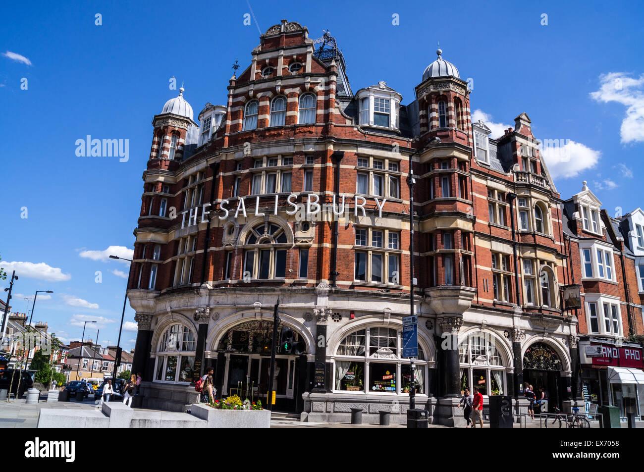 Salisbury Hotel, Victorian pub by John Cathles Hill, 1899 ...