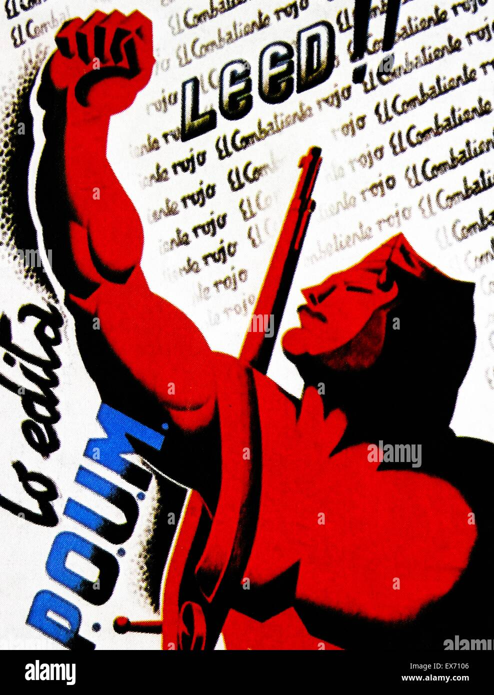 Image result for spanish civil war marxist salute