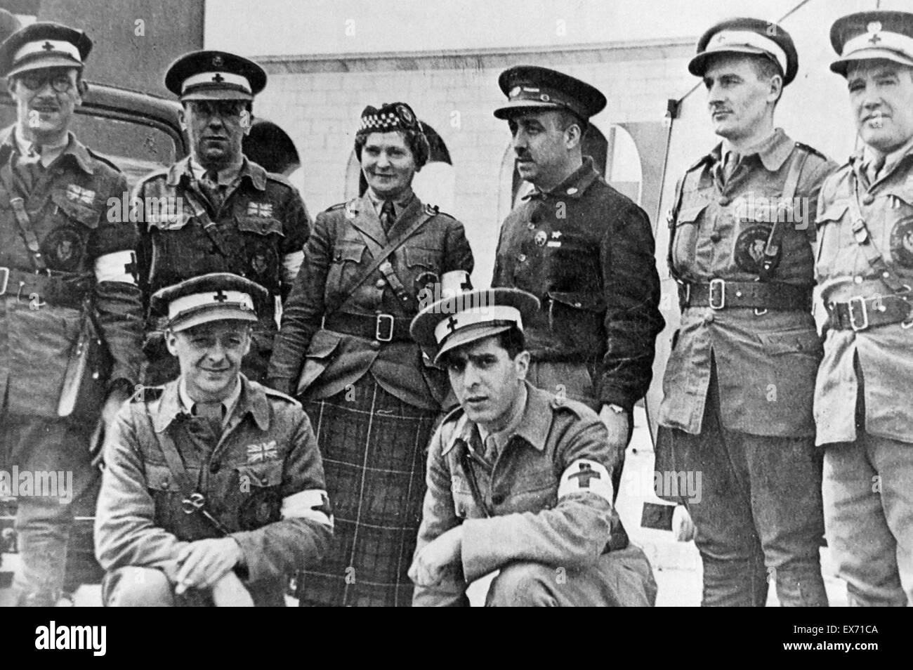 Znalezione obrazy dla zapytania polish international brigade spain 1936