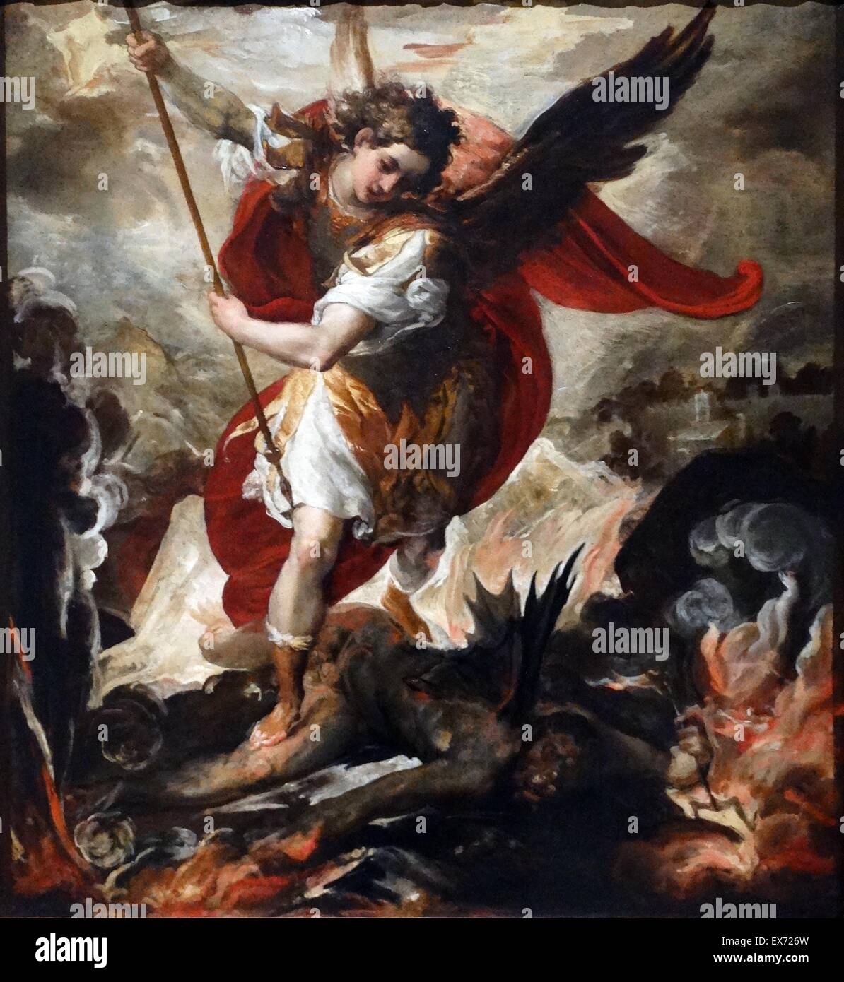 Saint Michael The Archangel Defeats Lucifer, 1656