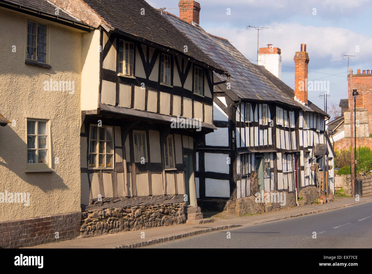 Images of timber framed houses