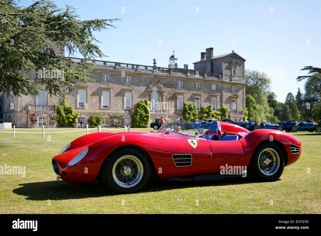 1958 Ferrari 196S Replica (415 UXY) at the Wilton House Classic ...