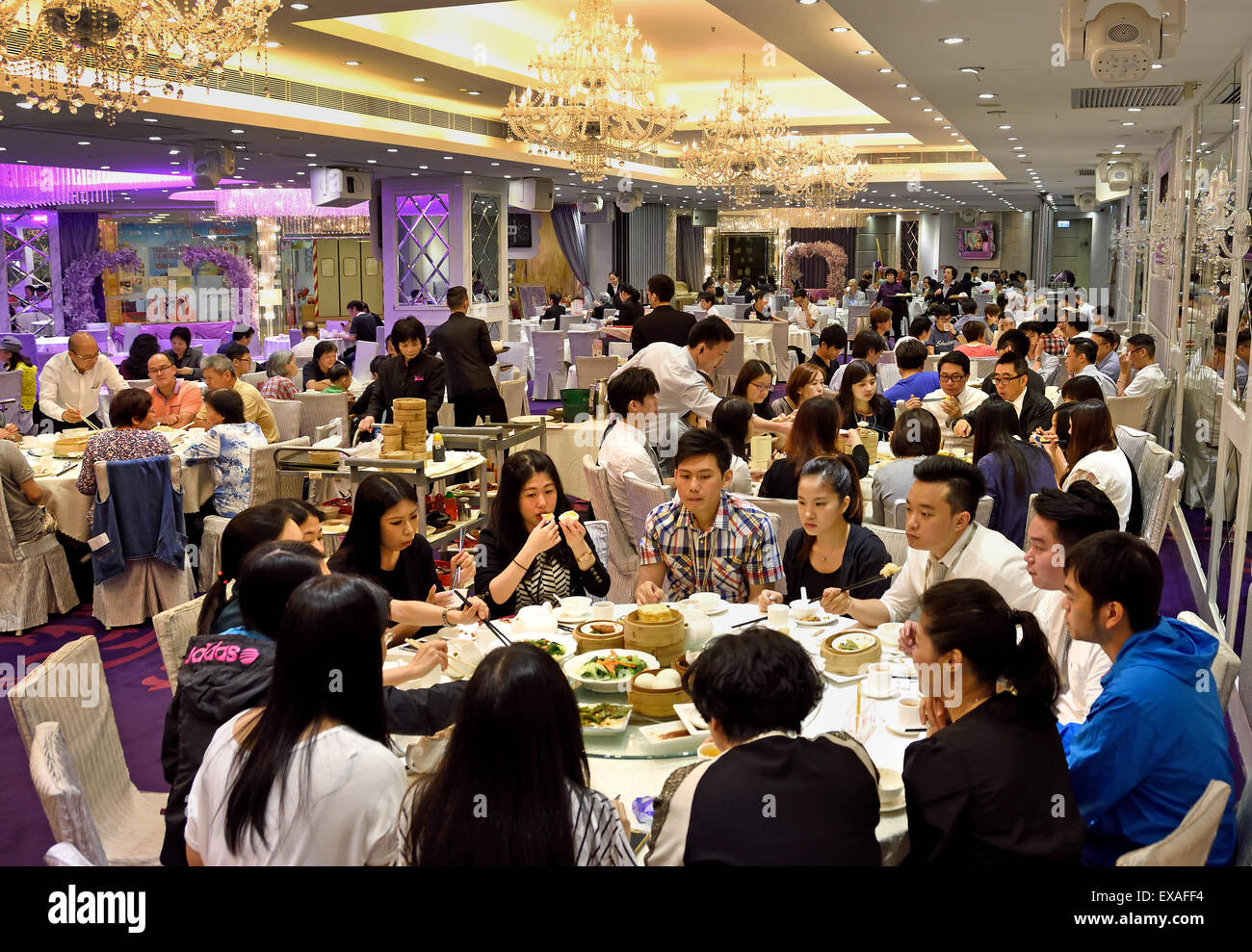 hong kong chinese restaurant business lunch office people china stock photo royalty free image. Black Bedroom Furniture Sets. Home Design Ideas