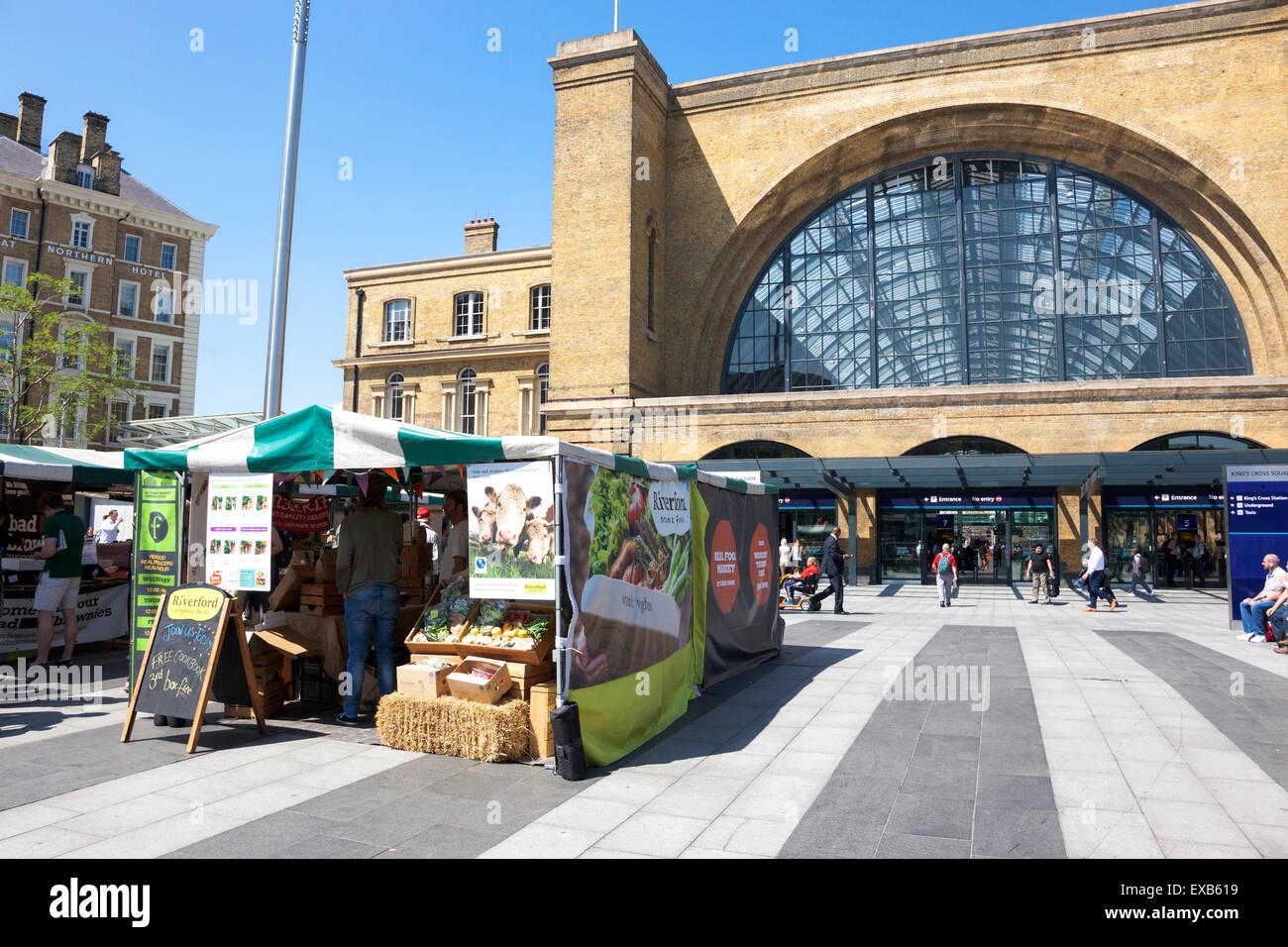 Healthy Food Kings Cross Station