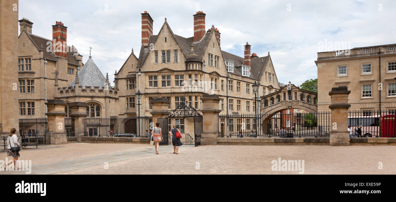 Oxford Architecture, Bridge Of Sighs, Hertford College, Catte Street,  University Of Oxford