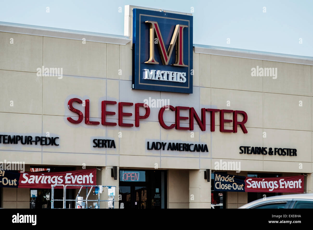 The Exterior Front Of Mathis Brothers Furniture Store In Oklahoma City USA