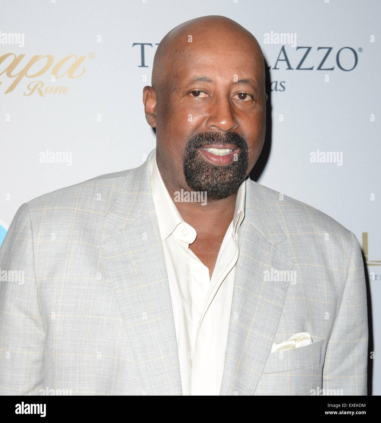 Las Vegas Nevada USA 12th July 2015 Coach Mike Woodson and