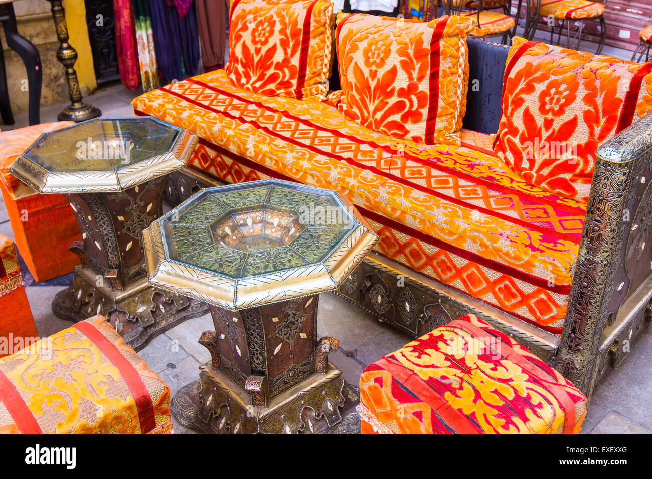 Arabic Style Furniture To Sit For Tea