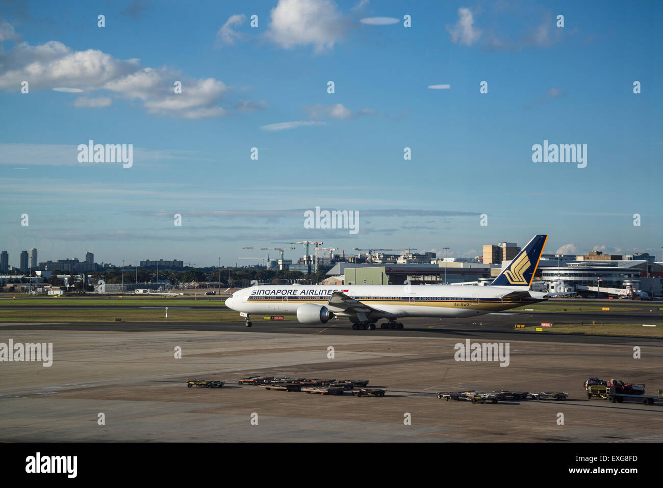 Sydney airport singapore airlines australia stock photo for Singapore airlines sito italiano