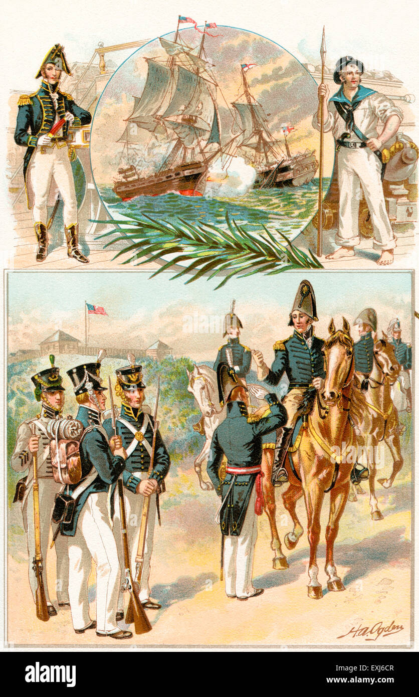 a history of the war of 1812 in the united states History of the war of the united states with great britain in 1812, and of the war with mexico by john lewis thomson a history of the united states navy from 1775 to 1901 by edgar stanton maclay vol 1 of 3.
