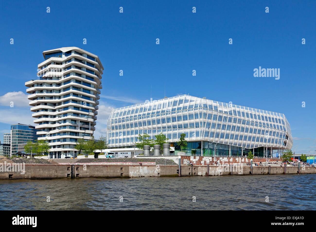 Hamburg Marco Polo Tower marco polo tower unilever house harbour city hamburg germany