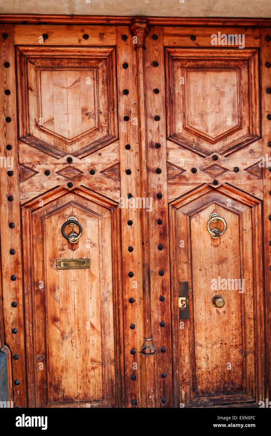 Heavy wooden doors Stock Photo, Royalty Free Image: 85283952 - Alamy