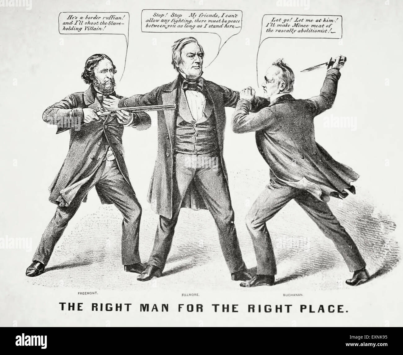 account of the presidential elections of 1856 james buchanan john fremont and millard fillmore Former united states president, millard fillmore,  election of 1856 began on an  victory with james buchanan becoming president and john .