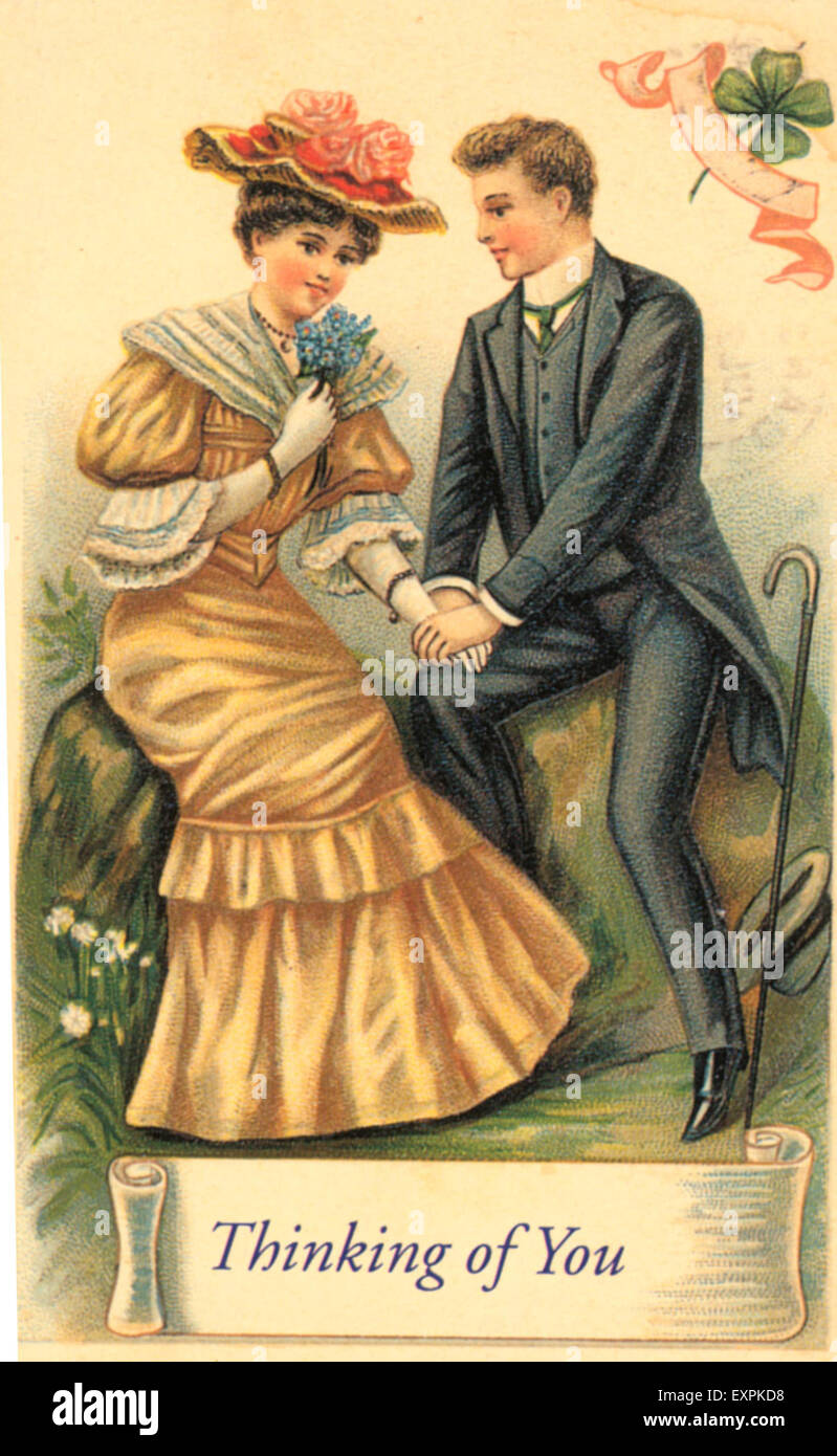 1900s uk valentines day cards greetings card stock photo 1900s uk valentines day cards greetings card kristyandbryce Images