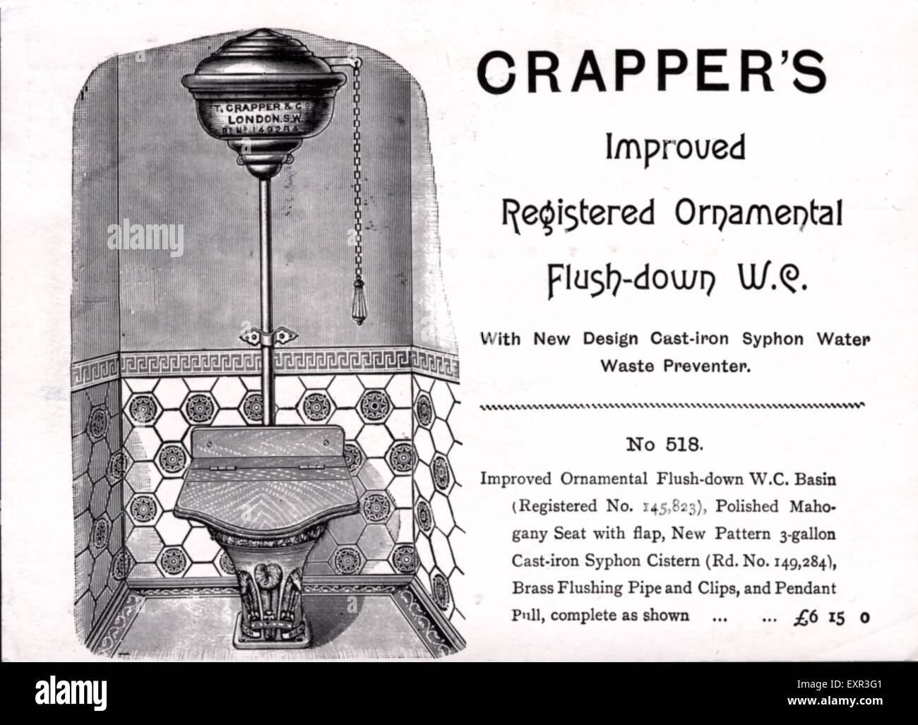 a history of the toilet invention by thomas crapper 10 false history 'facts' everyone can't we all just agree to continue saying that thomas crapper invented the flush toilet the true inventor of the flush.