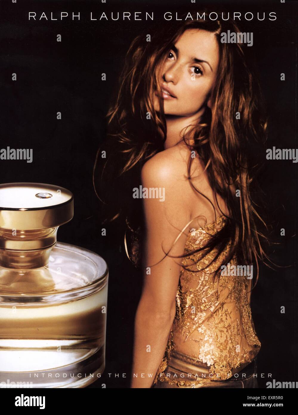 2000s UK Ralph Lauren Glamourous Magazine Advert