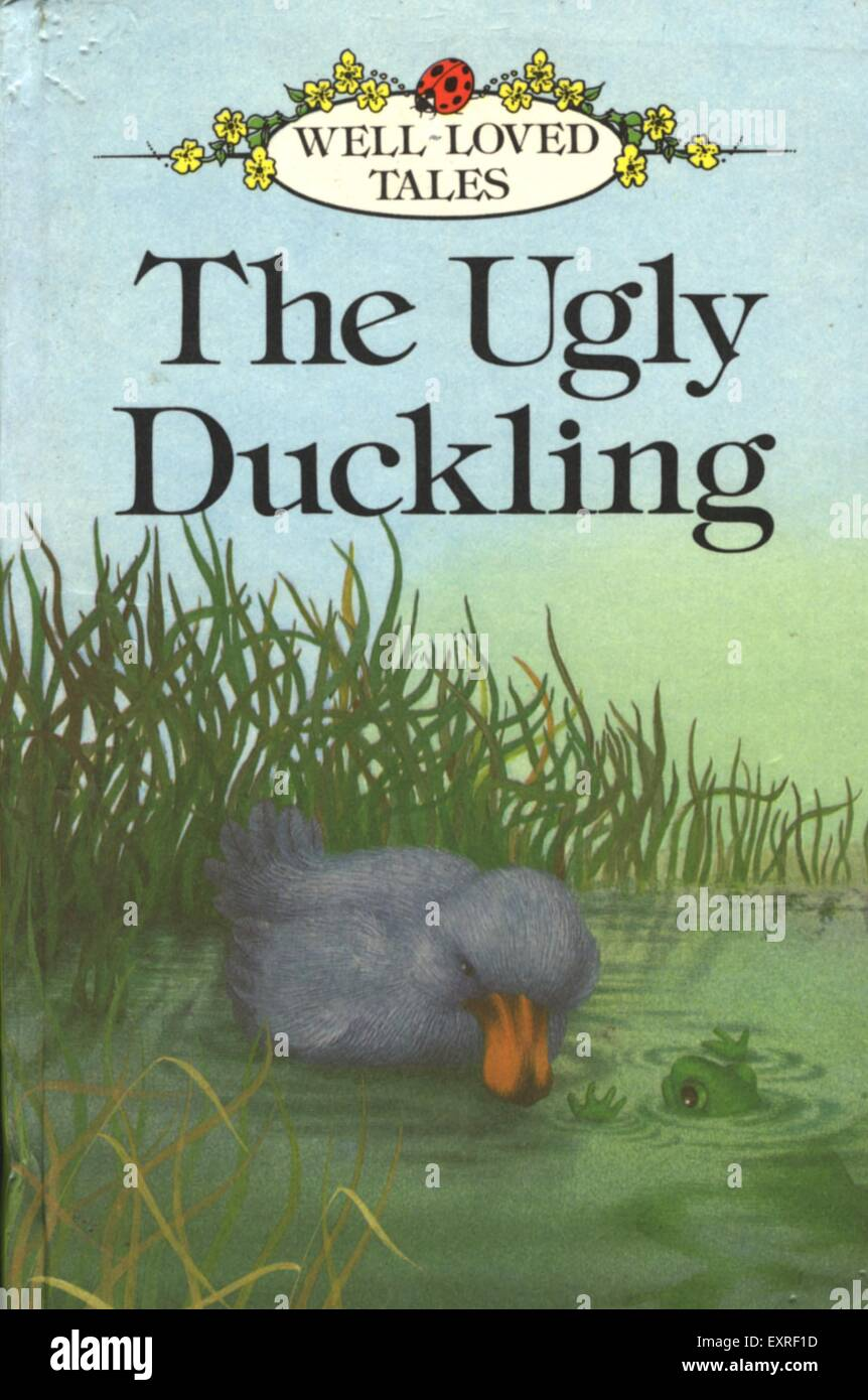 Book Cover Stock Photography : S uk the ugly duckling book cover stock photo royalty