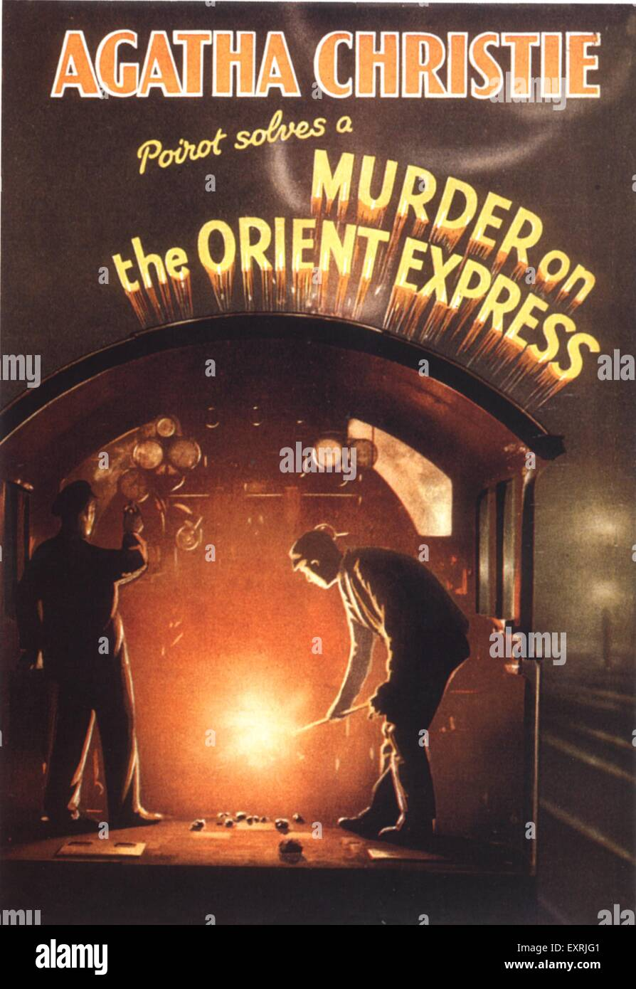 Book Cover Stock Photography ~ S uk murder on the orient express book cover stock
