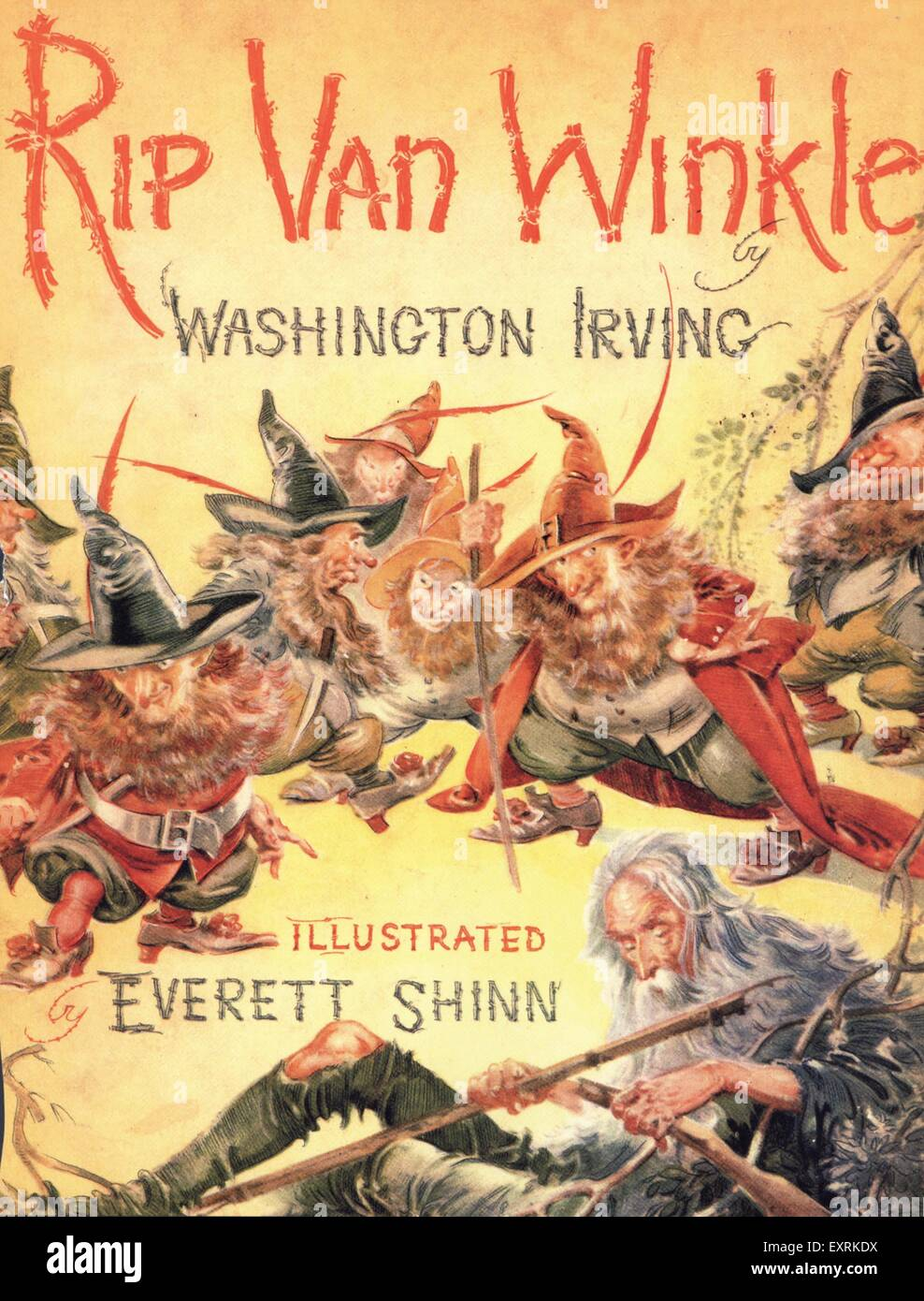 Compare and contrast Irving's Rip Van Winkle – Washington Irving's Diction Essay Sample