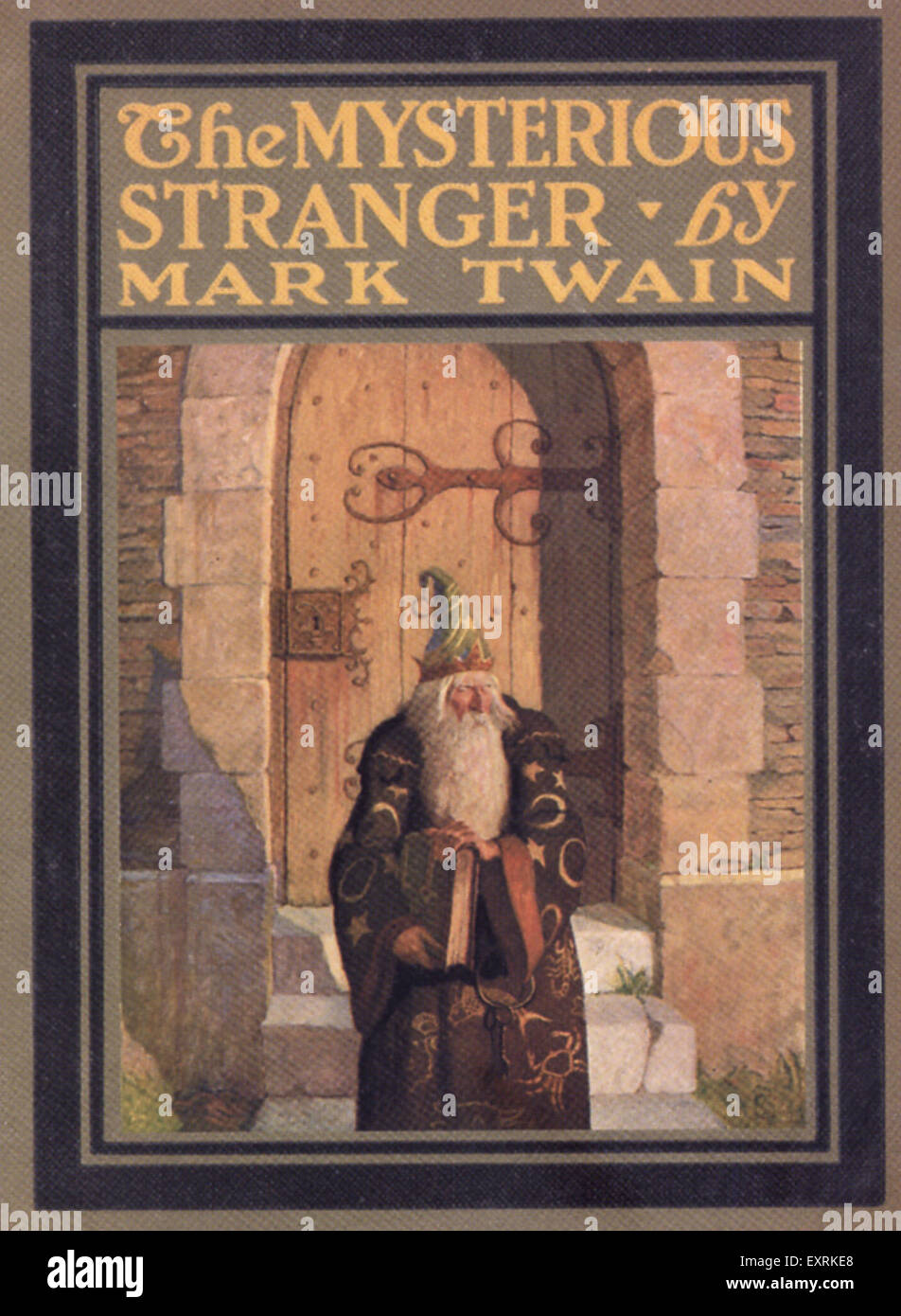 Book Cover Photography Uk : S uk the mysterious stranger by mark twain book cover