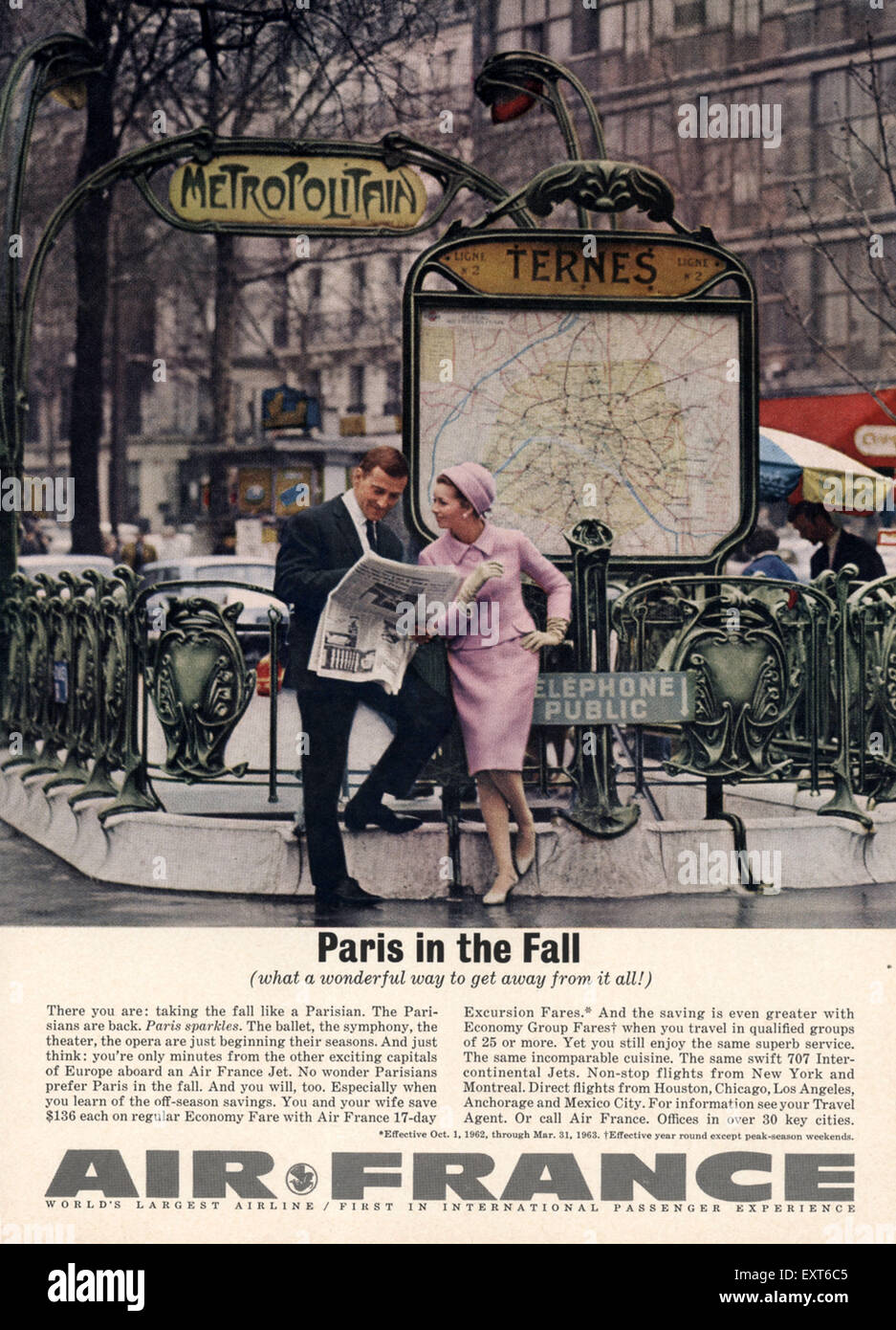 Super Air Travel 1960's Stock Photos & Air Travel 1960's Stock Images  QY35