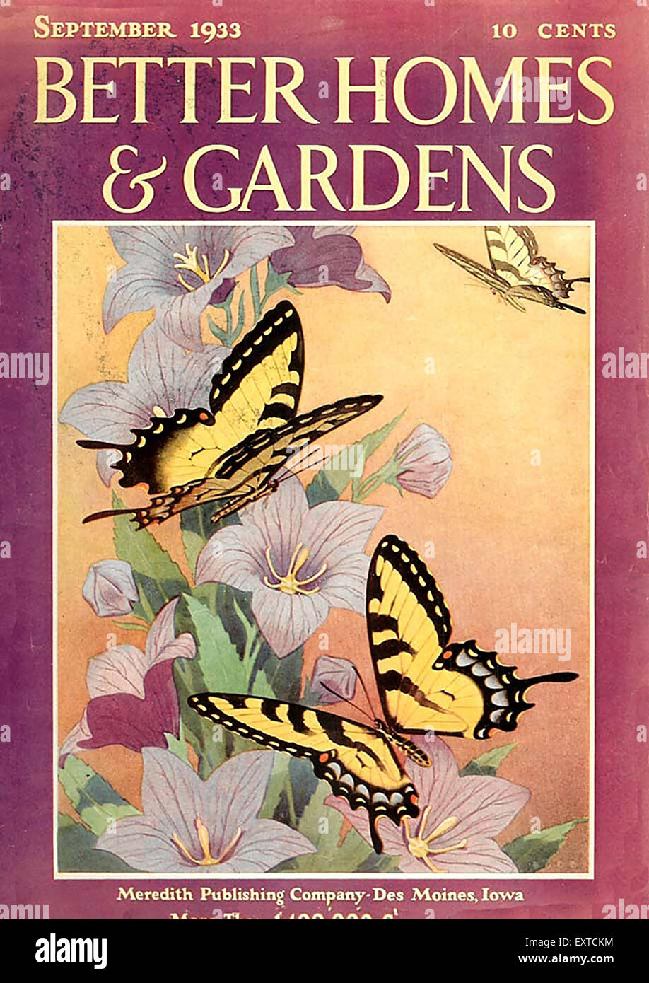 1930s usa better homes and gardens magazine cover - Free Better Homes And Gardens Magazine