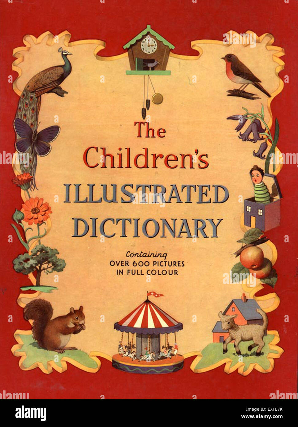 Illustrated Book Cover Uk : S uk the childrens illustrated dictionary book cover