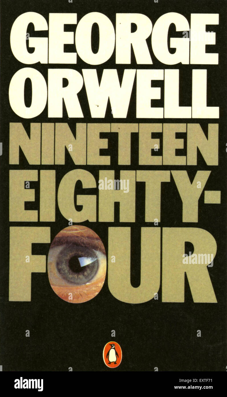 Book Cover Photography Uk : S uk nineteen eighty four book cover stock photo