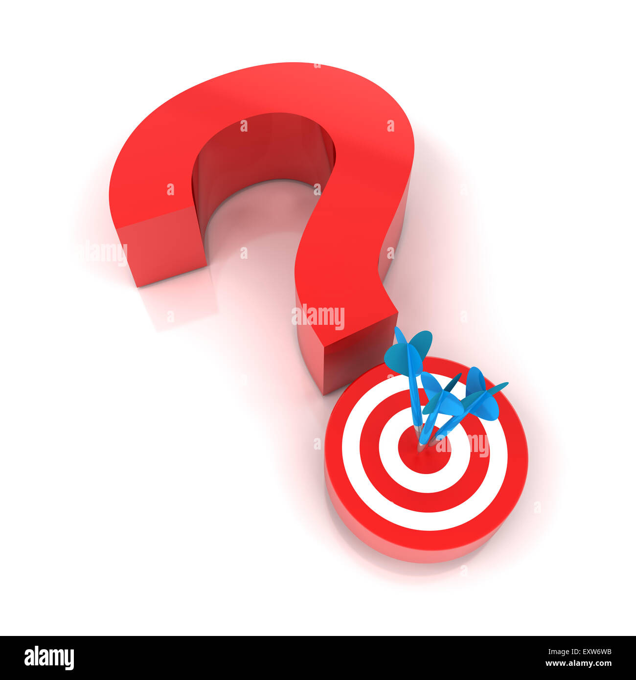 Question mark and target stock photo royalty free image 85376743 question mark and target buycottarizona Image collections
