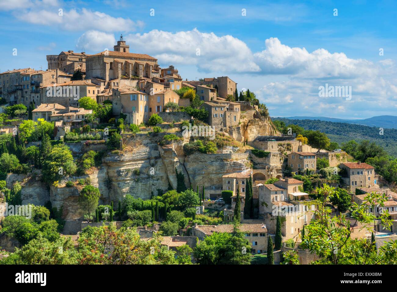gordes vaucluse provence alpes cote d azur france europe stock photo royalty free image. Black Bedroom Furniture Sets. Home Design Ideas