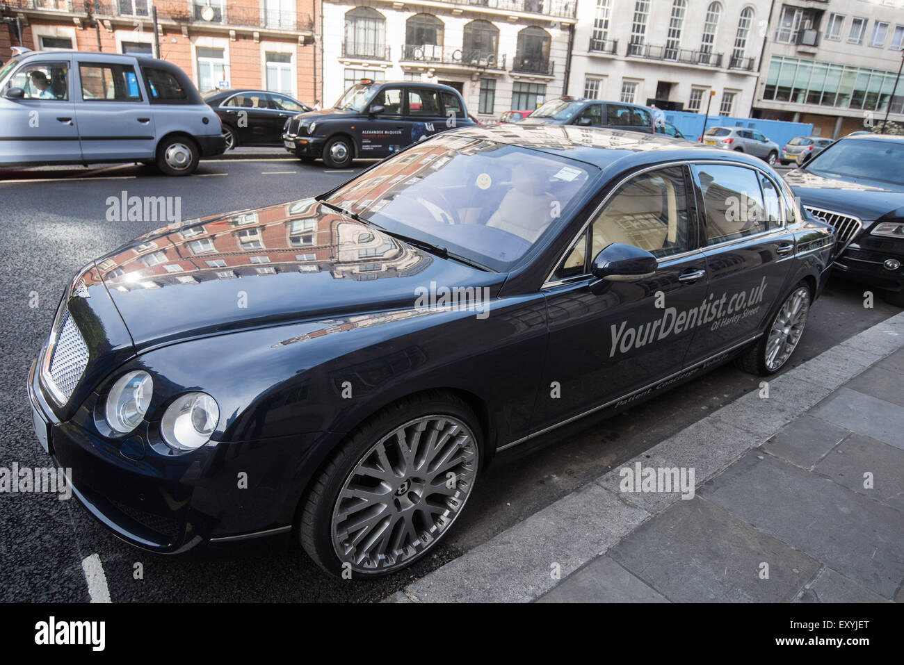 A Harley Street Dentist Offers A Chauffeur Driven Bentley For His - Bentley chauffeur