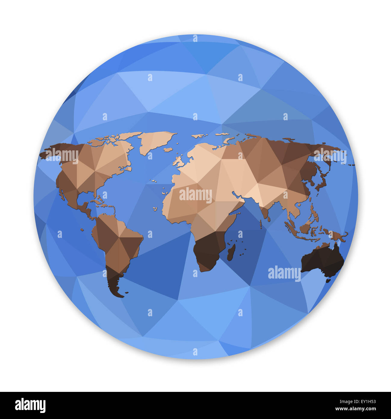 World globe map in polygonal style geometric structure isolated world globe map in polygonal style geometric structure isolated on white background gumiabroncs Gallery