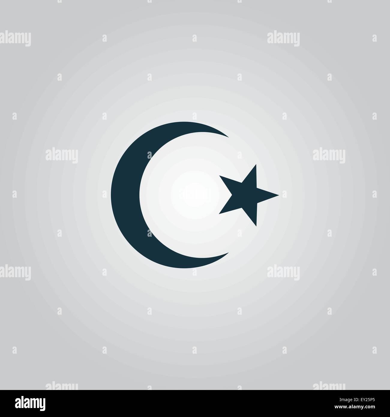 Islam Symbol Stock Vector Art Illustration Vector Image 85485629