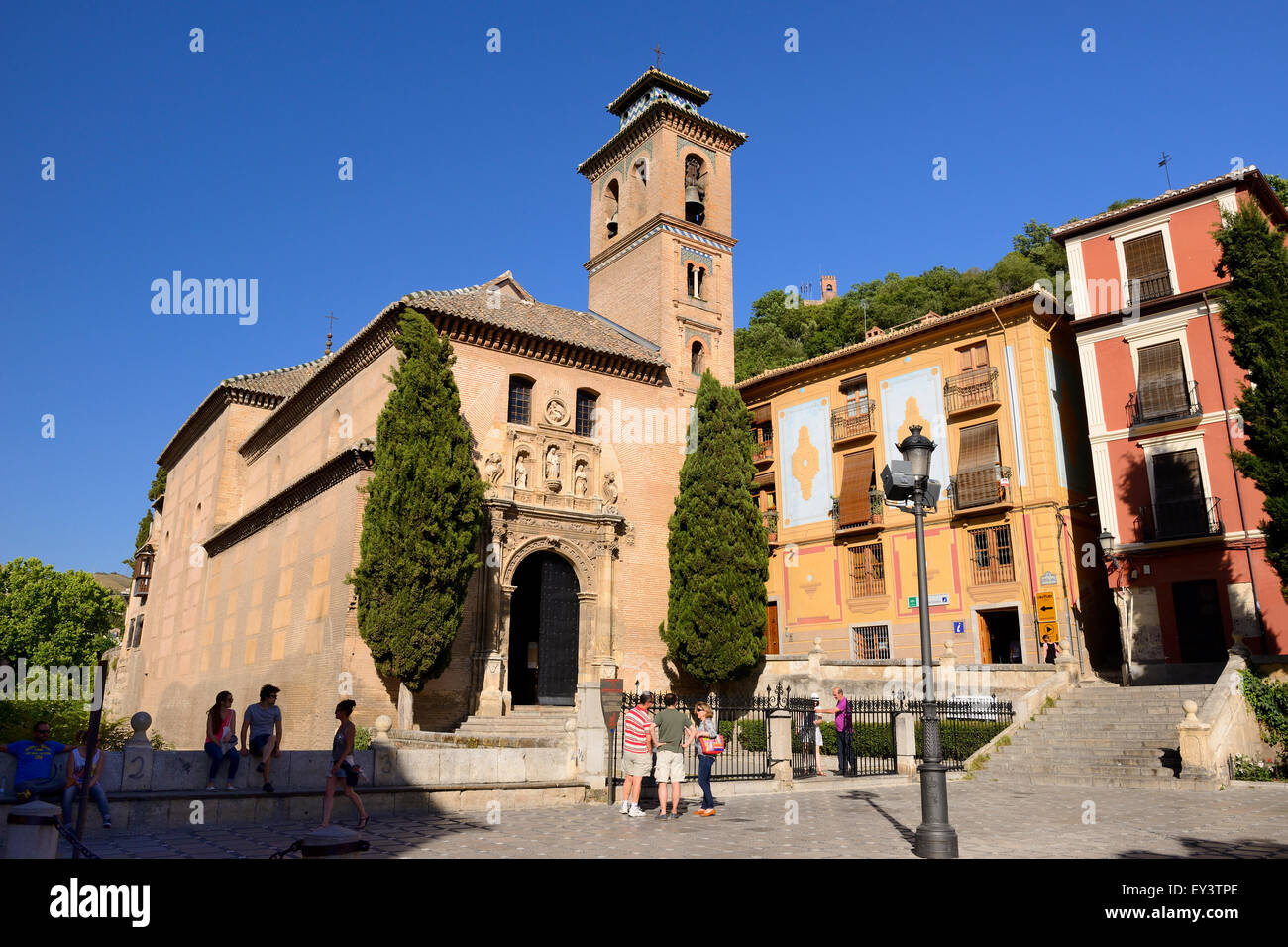 Church of saint anna iglesia de san gil y santa ana in - Santa ana granada ...