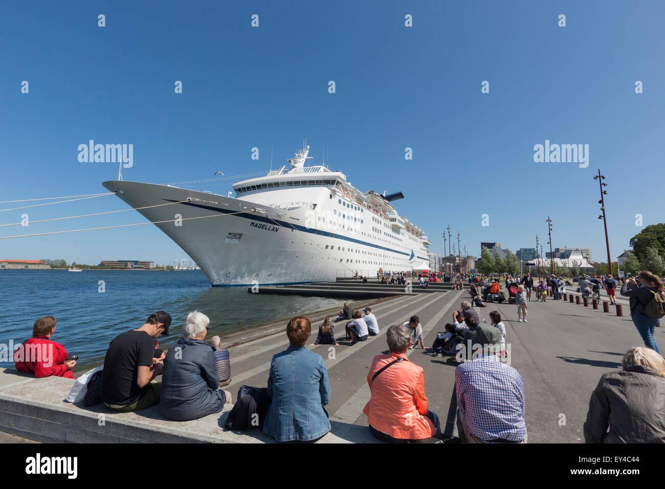 Cruise Maritime Voyages Cruise Ship Magellan Stock Photo - Magellan cruise ship