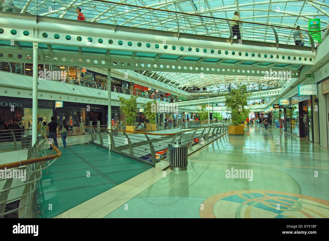 Vasco da Gama shopping centre at parque das na oes, site expo 98 ...