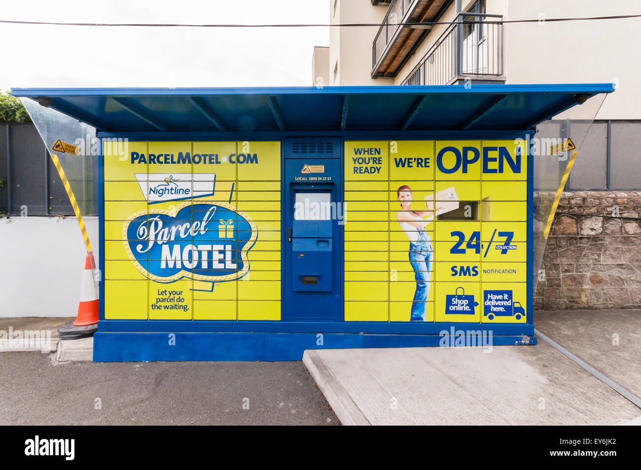 Parcel Motel, An Automated Storage System For Parcel Delivery And  Collection In Ireland Particularly Popular