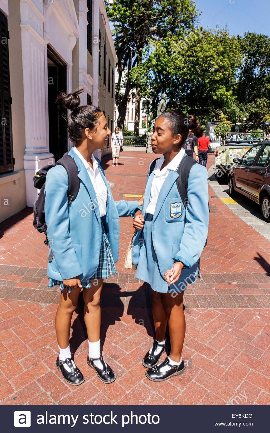 Are not african black teen school girls
