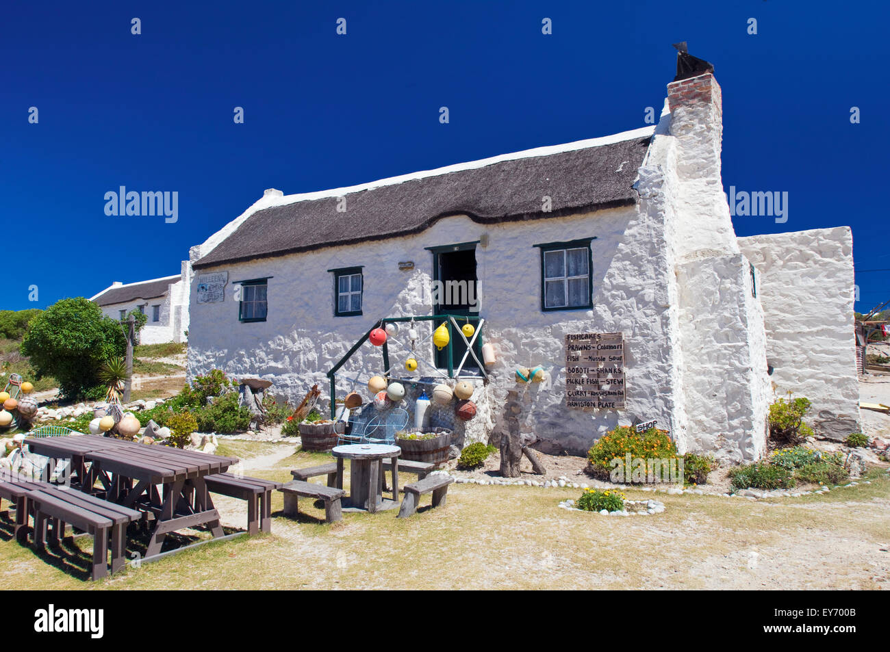 Fisherman 39 s cottages at kassiesbaai in arniston image take on a stock photo royalty free image - The fishermans cottage ...