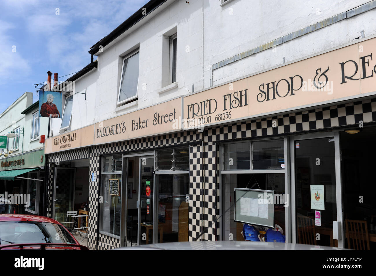 The famous bardsley 39 s fried fish shop and restaurant in for Fried fish restaurants