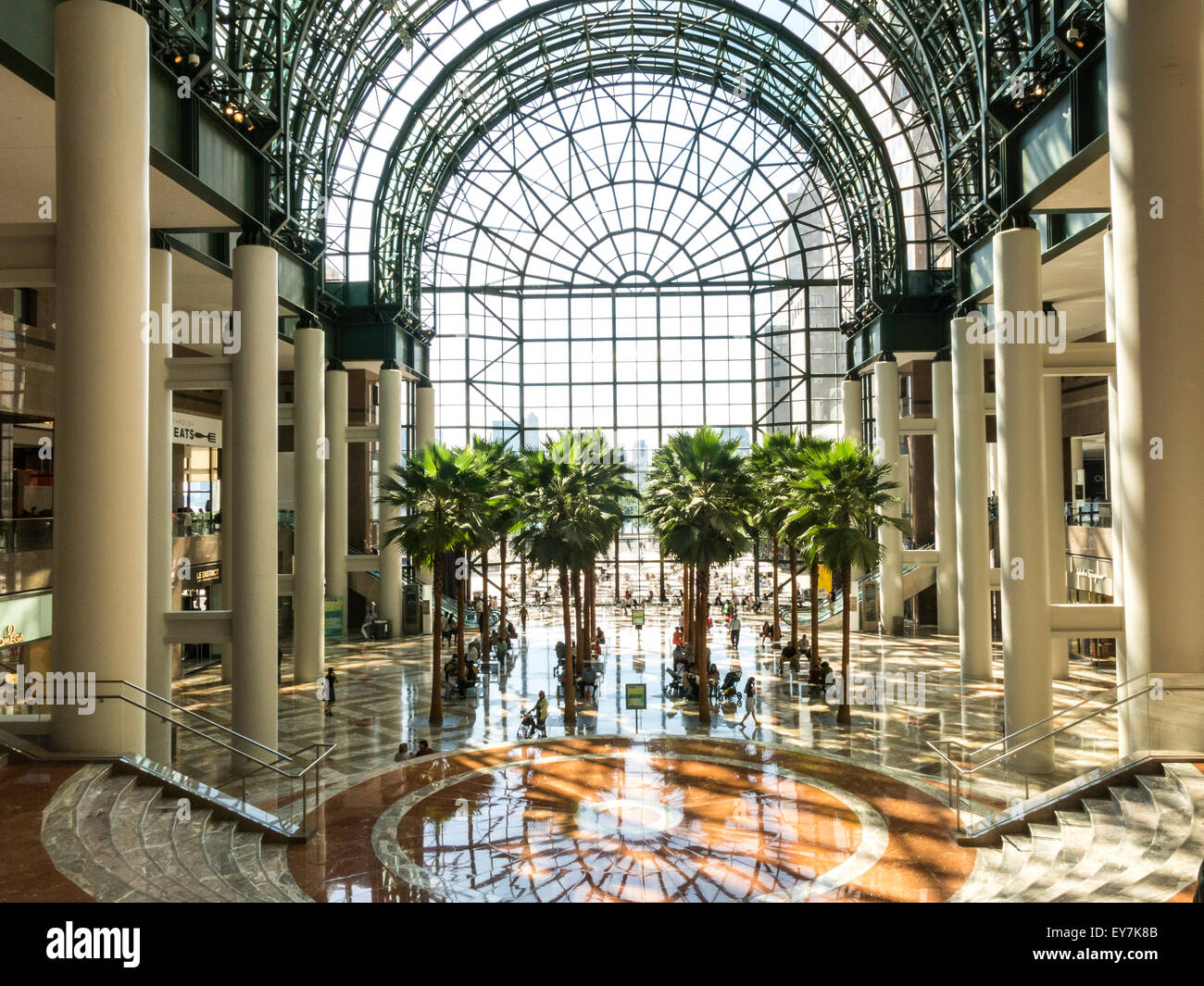 The Winter Garden Atrium Brookfield Place In Battery Park